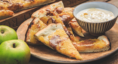 APPLE AND CINNAMON FLATBREAD